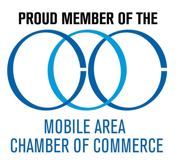 Proud Member of Mobile Area Chamber of Commerce