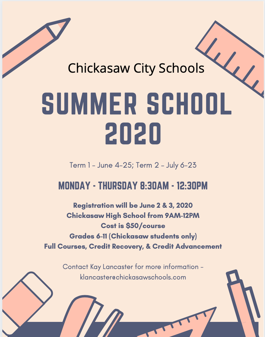 CMS/CHS Summer School