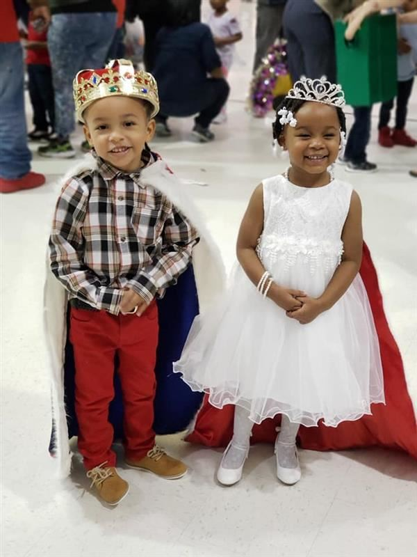 King Avion Worth and Queen Kensli Brown