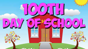 100th Day of School - January 23rd - Students in grades K - 5th may dress as 100 year olds